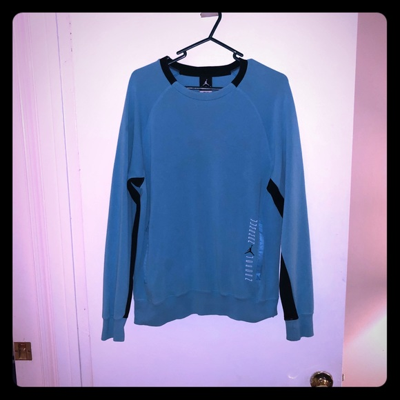 8dbb406115aa Jordan Other - Rare EUC Gamma Blue 11 Sweatshirt!
